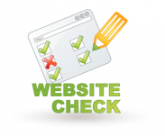 Website-Ckeck anfordern!
